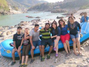 river rafting, ganga river rafting, trip, solo trip, first trip