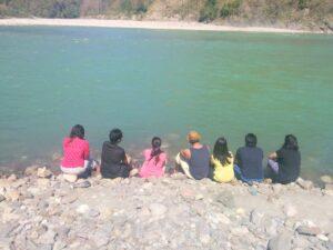 ganga river, serenity, trip, travel solo, trekking